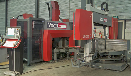 Structural Steel Machinery Voortman V808 Voortman V320